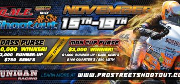 Man Cup : Second Annual DME Racing All-Star Shootout Schedule