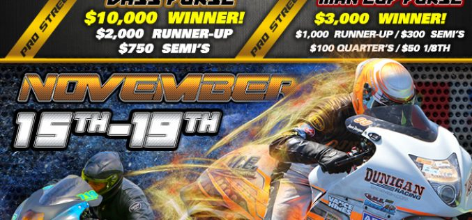 Man Cup : DME Racing All-Star Shootout Flyer and Graphics