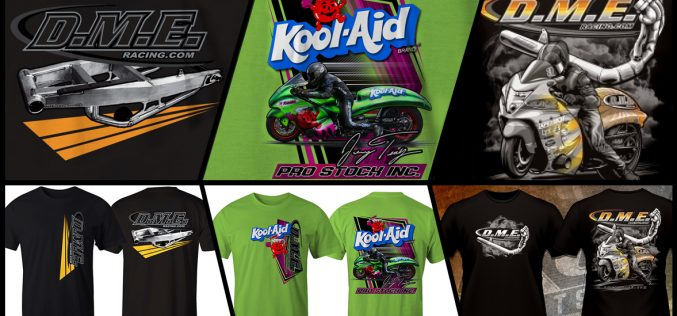 DME Racing : 3 New T-Shirt Designs – Oh Yeahh!