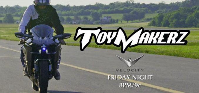 Brock's Performance Joins ToyMakerz on Velocity TV Reality Show