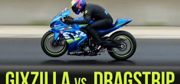 2017 Suzuki GSX-R1000 | Episode 10 / Part 1 – Gixzilla vs. Drag Strip