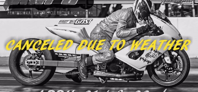 PMRA: Racing Cancelled this Weekend