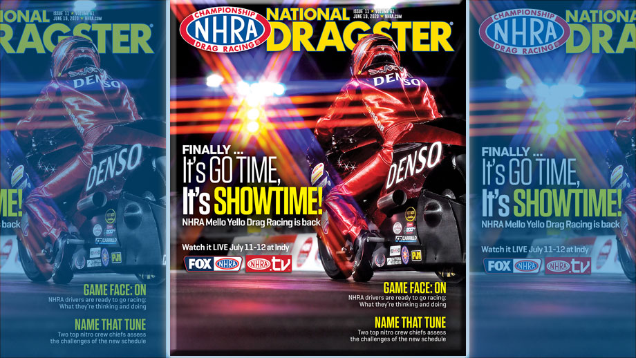 National Dragster For All: Read free issues of NHRA National Dragster magazine