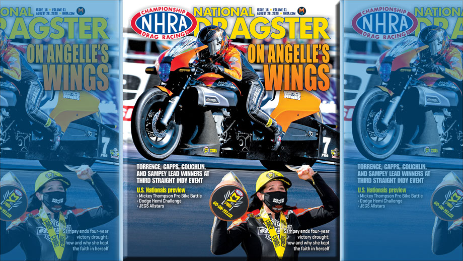 NHRA National Dragster Magazine Issue 16