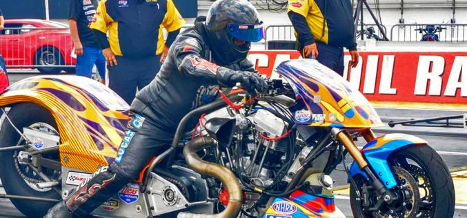 NHRA Lucas Oil Summernationals | Top Fuel Harley