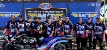NHRA: SpringNationals Top Fuel Harley Results