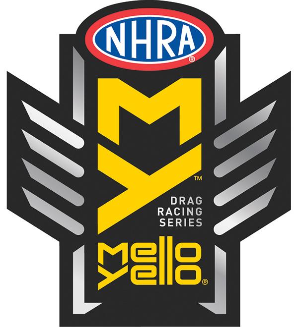 NHRA Mello Yellow drag racing series