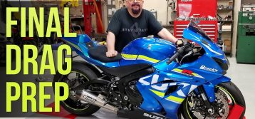 2017 Suzuki GSX-R1000 | Episode 9 / Part 5 – Lowering Link Install and Final Drag Prep