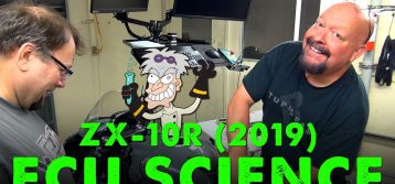 2019 Kawasaki Ninja ZX-10R   ECU Flashing with Mad Scientist Don Guhl