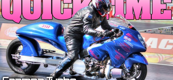 Grampa Quicktime: Marty Sanzoterra's 7 second Turbocharged Hayabusa