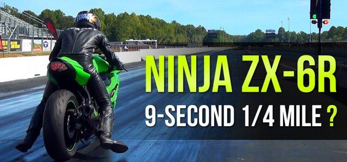 Brock's Performance: Kawasaki Ninja ZX-6R 9-Second 1/4 Mile | VIDEO