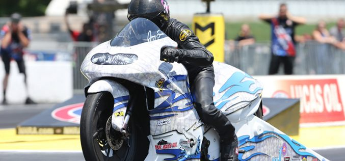 NHRA : Englishtown Pro Stock Motorcycle Results