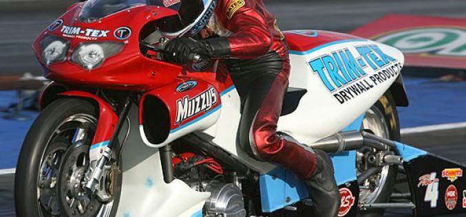 Photo of the Week : Ryan Schnitz on the Trim-Tex/Muzzy Pro Stock Bike