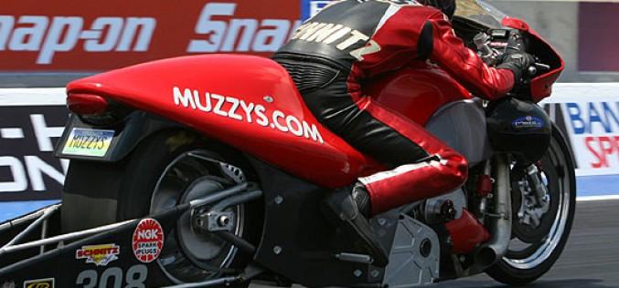 POTW: Ryan Schnitz on the Muzzy NHRA Pro Stock Motorcycle