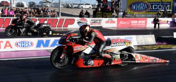 NHRA : Pro Stock Motorcycle Results from Las Vegas