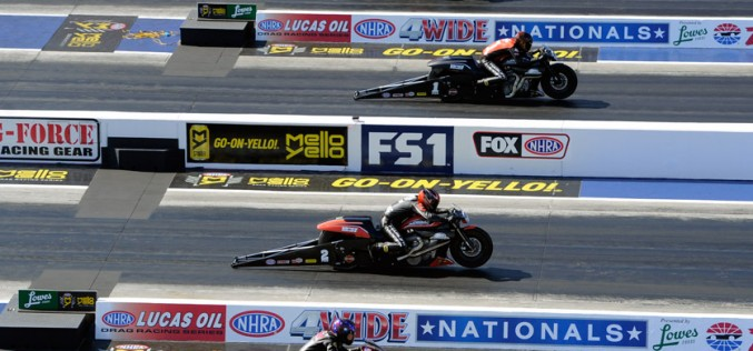 NHRA : 4Wide Nationals – Results from Zmax