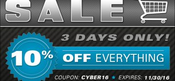 Brock's Performance : Cyber Sale 10% OFF Everything