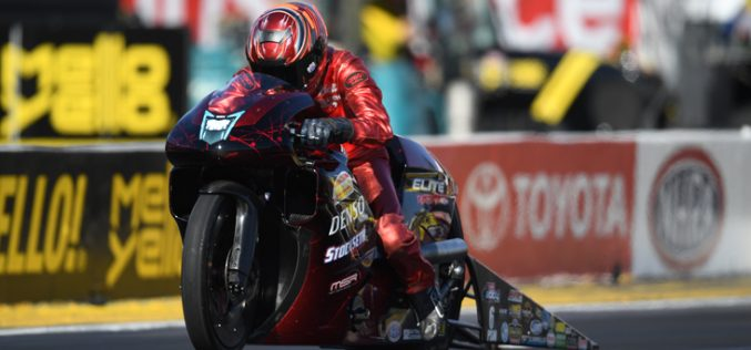 NHRA: Motorcycle Finals from Pomona – Smith and Markham Champs