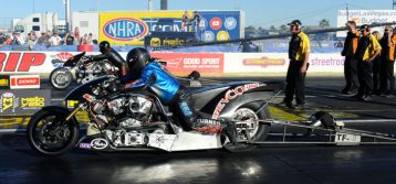 NHRA Nitro Harley : Results from Vegas
