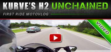 Kurve's Ninja H2 : First Ride Motovlog on the Brock's Equipped Beast