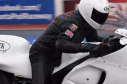 EDRS Pro Nordic Motorcycle riders at Main Event in England