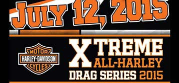 Harleys Invade MDIR : Extreme Drag Racing Series 7/12
