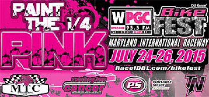 IDBL: Paint The 1/4 Pink – July 24-26 at MDIR
