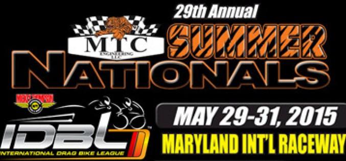 IDBL : MTC Summer Nationals Race Results