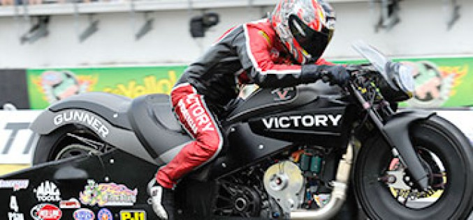 NHRA Pro Stock Motorcycle Champ Matt Smith Ready for Icing on the Cake
