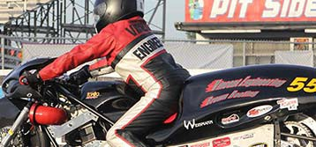 Testa Rides Funnybike to Pro Open Final