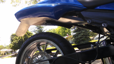 TT-14-EXT Inner Fender-Extended Kawasaki ZX-14 06-17