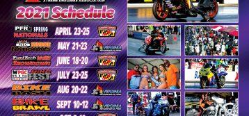 XDA: 2021 Motorcycle Drag Racing Schedule Released