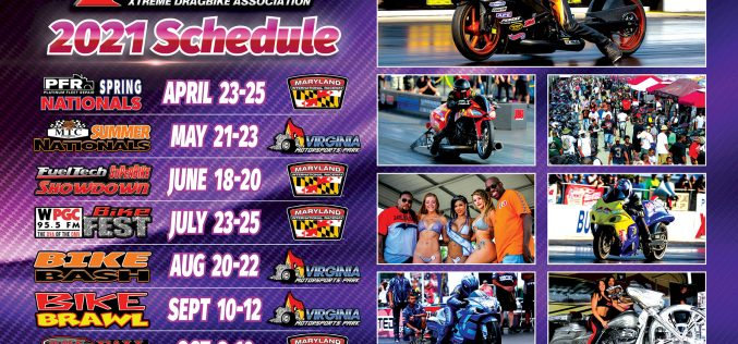 XDA: 2021 Motorcycle Drag Racing Schedule Released