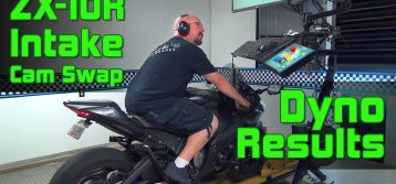 Brock' Performance: ZX-10R Kit Intake Cam, Penta-Carbon and Sprint Filter Dyno Results